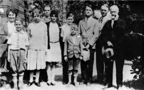 1929, With Swedish relatives at Oakland, California