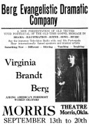 1931, Evangelistic Dramatic Company Poster